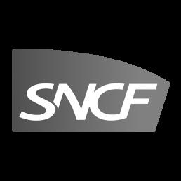 Logo SNCF pour la réalisation d'une video professionnelle